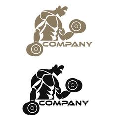 bodybuilding logotype