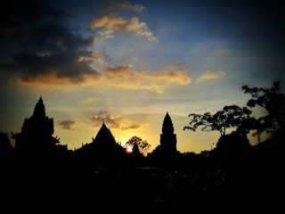 Evening time at Phnom phen