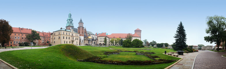 Wawel in Krakow, Poland
