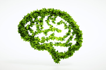 Eco nature intelligence concept