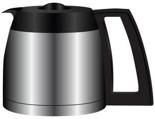 Steel container for coffee