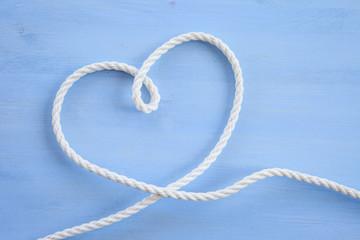 Herz aus Seil