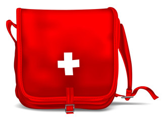 First Aid Kit Shoulder Bag