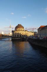 bode museum auf der musumsinsel in berlin