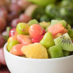 Close-up Fruits salad