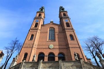 Piekary Slaskie basilica in Poland