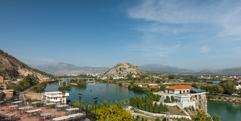 View at Shkodra city