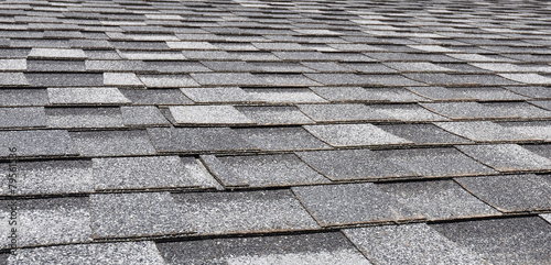 Asphalt Roofing Shingles Background - 79561536