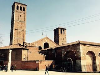 Milano, la Basilica di Sant'Ambrogio