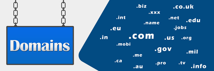 Domains Signboard Horizontal