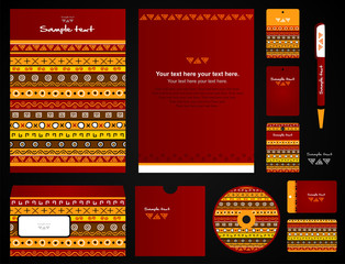 Corporate style. 11 templates.
