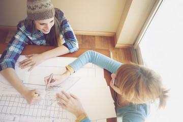 Female Architects Working