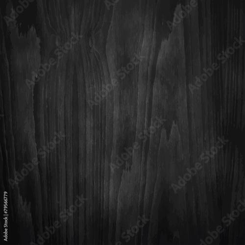 Dark Black Wood Texture.