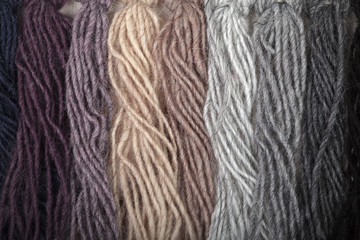 Thread color samples
