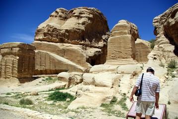 Иордания, дорога в Петра