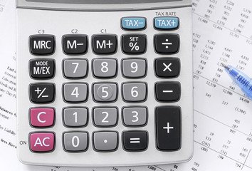checking accounts with a calculator