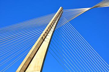 Pontevedra, Galicia, Puente de los Tirantes, España