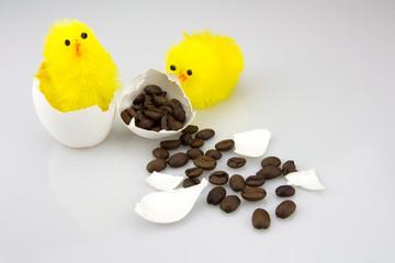 Überraschung aus dem Ei
