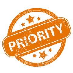Priority grunge icon