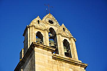 Pontevedra, campanario de Santa María la Mayor, Galicia