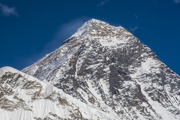 view of the Everest from Kala Patthar