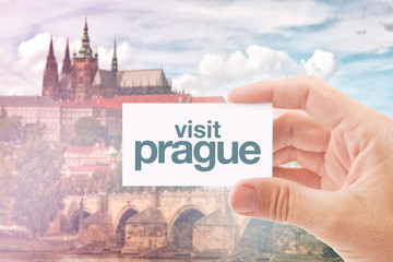 Tourist Agent With Visit Prague Card