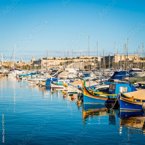 Port de Sliema, Malte