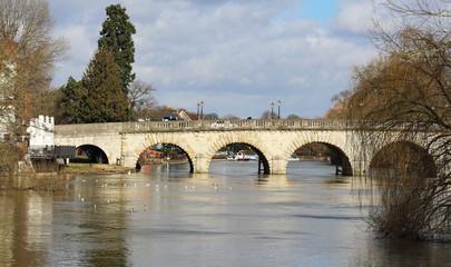 Bridge over the Thames at Maidenhead