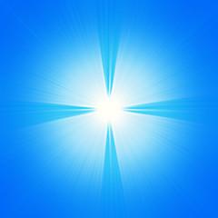 Croce di luce - bagliore