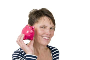 listen to the piggy bank