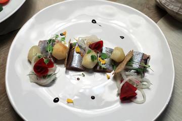 Slices of herring