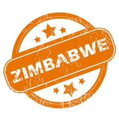 Zimbabwe grunge icon