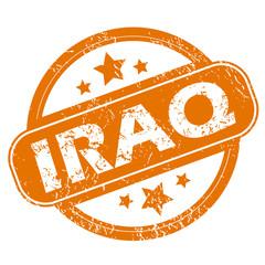 Iraq grunge icon