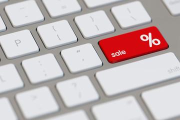 Online Sale mit Rabatt