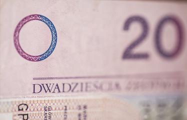 bill of 20 polish zloty