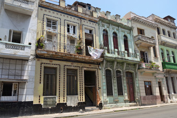Havana historic houses