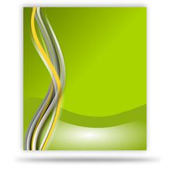 wellen grün