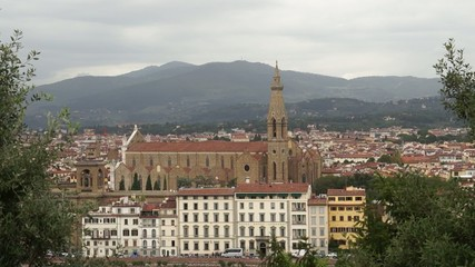 Scenes of Florence Italy.