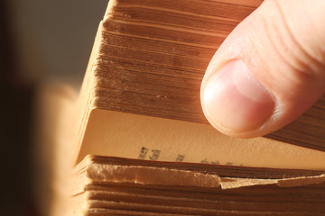 Pages book, macro