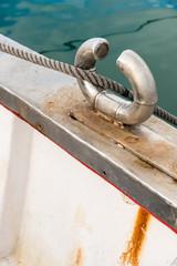 Cornamusa de un barco
