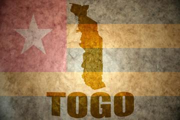 togo vintage map