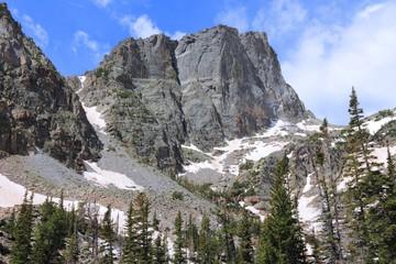 Hallett Peak in Rocky Mountains, Colorado