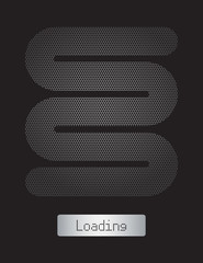 loading bar, abstract background, vector illustration, eps10