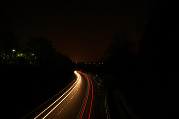 Lichtzieher von Autos