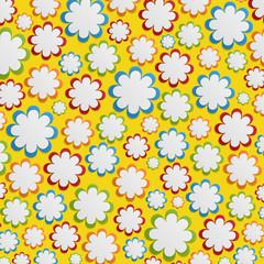 Flower background. Vector illustration.