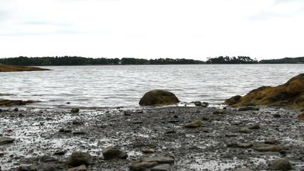 USA Coastline in Maine Time Lapse