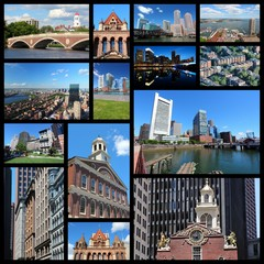 Boston - travel collage