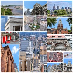 Philadelphia - travel collage