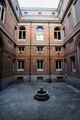 Fountain in the Courtyard