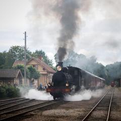 Steamtrain departure